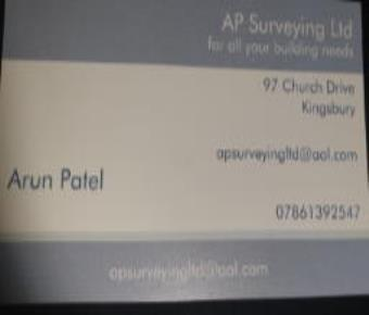 AP SURVEYING  LTD