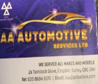 AA Automotive Services Ltd
